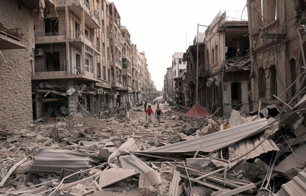Syrian Civil War Destruction
