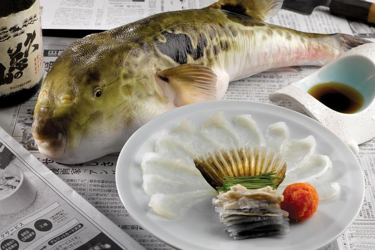 Weirdest Foods: Puffer Fish