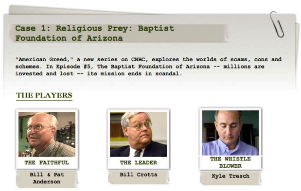 Corporate Scandals: Baptist Foundation of Arizona Real Estate Scam