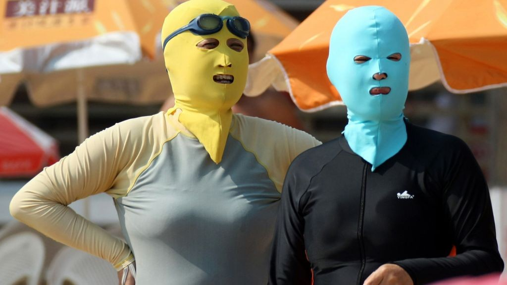 Weird Fashion: Facekini