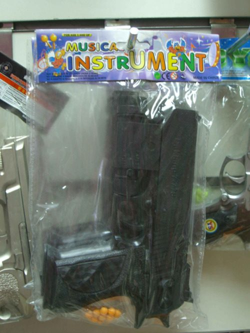 Bad Product Names: Musical Instrument Gun