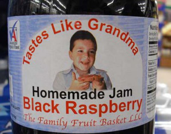 Bad Product Names: Tastes Like Grandma