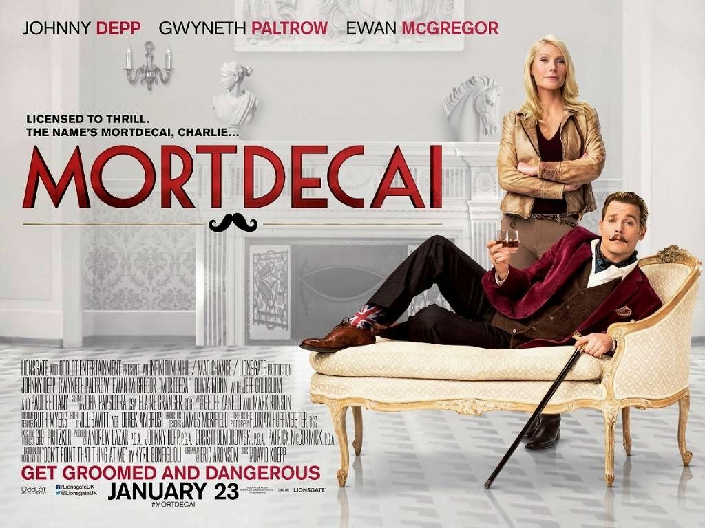 Worst Movies 2015: Mortdecai